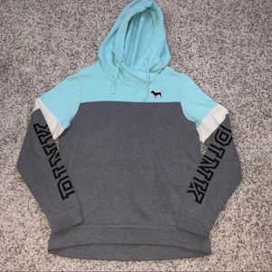 Hoodie from pink